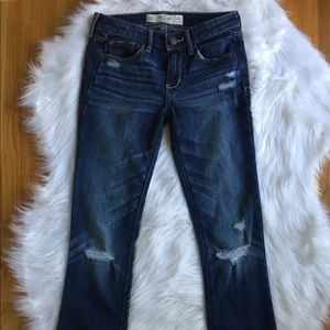 Abercrombie & Fitch Distressed Jeans Size  24/31